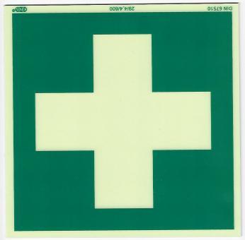 Schild Erste Hilfe E003